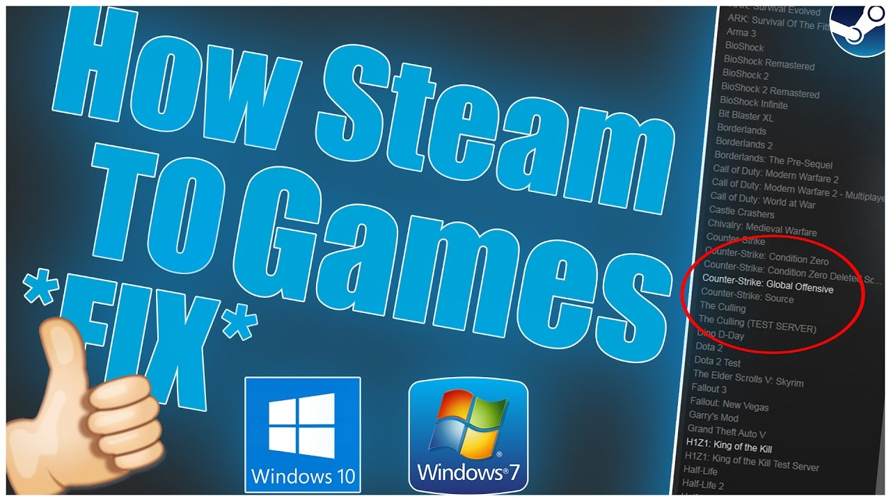 How to fix steam games saying syncing then not launching *FIX* 2019  (Windows 10 - Windows 7)