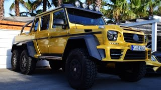 Mansory Gronos 6x6 One of One XTreme brutal Sound and in Detail