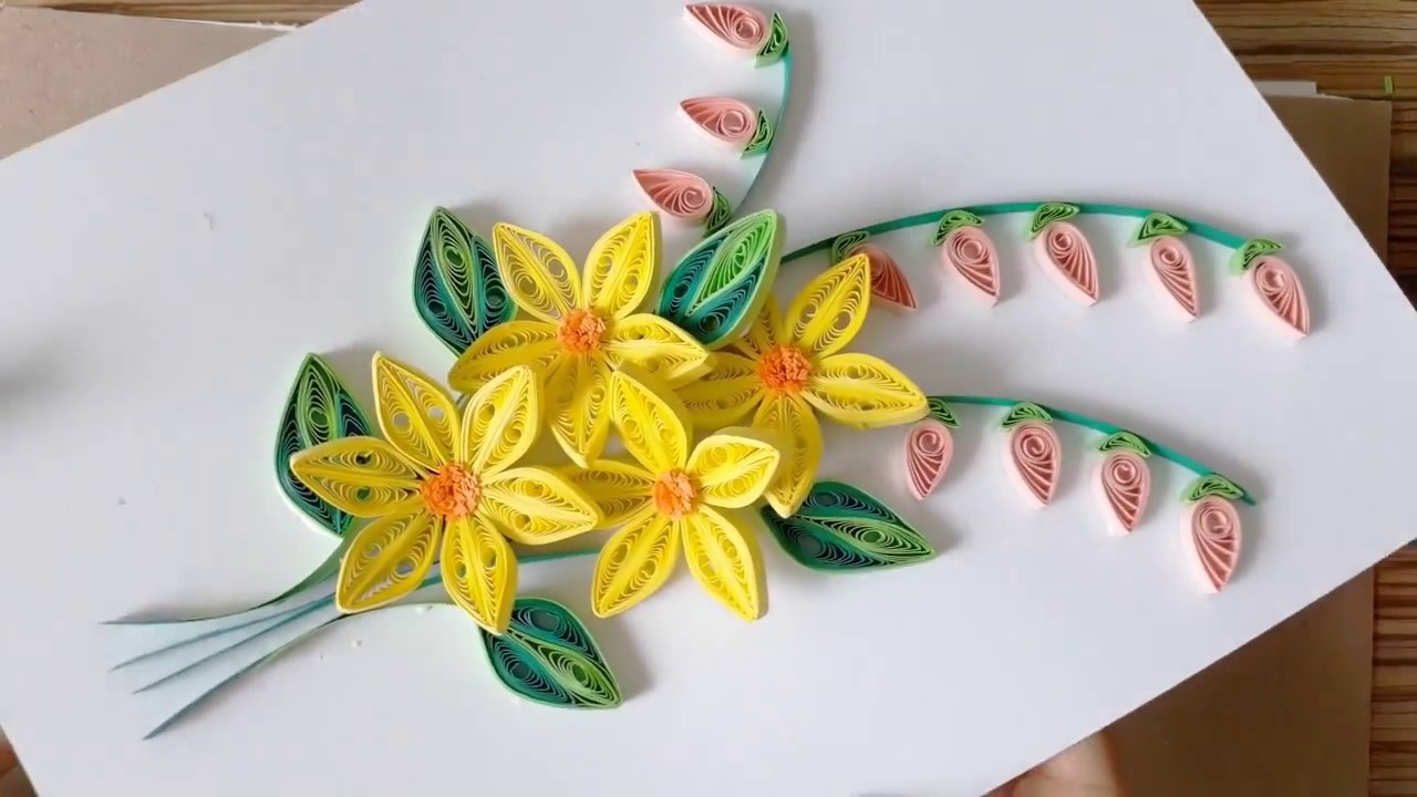 Kids Craft Diy Quilling Paper For Kids Learning 04 Quilling