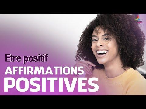 Affirmations positives pour ETRE POSITIF et oublier les pensées négatives | Motivation Online