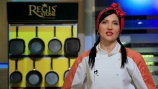 Nina Rus de la Chefi la Cutite recomanda tigaile antiaderente Regis Stone!