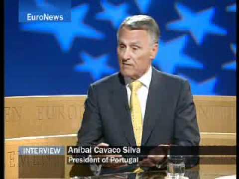 2008-01-16 Euronews Interview Aníbal Cavaco Silva