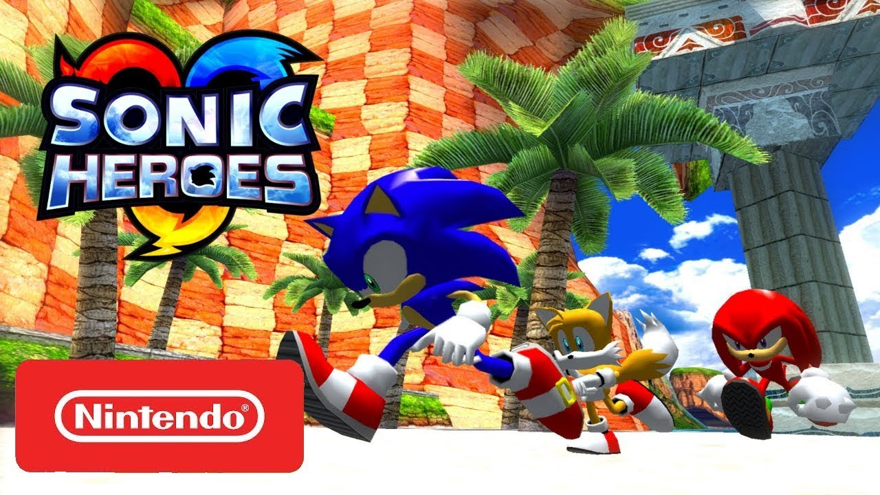 Sonic Heroes Hd Official Nintendo Switch Trailer Youtube