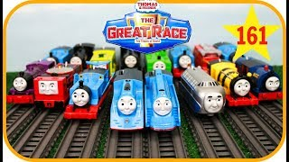 THOMAS AND FRIENDS The Great Race #161 |BEST Thomas & Friends TrackMaster Toy Trains for Kids