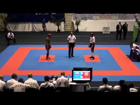 WAKO Kickboxing - EC 2012 - KL69kg Final - Mirzoev(RUS) Vs. Manojlovski(MKD)