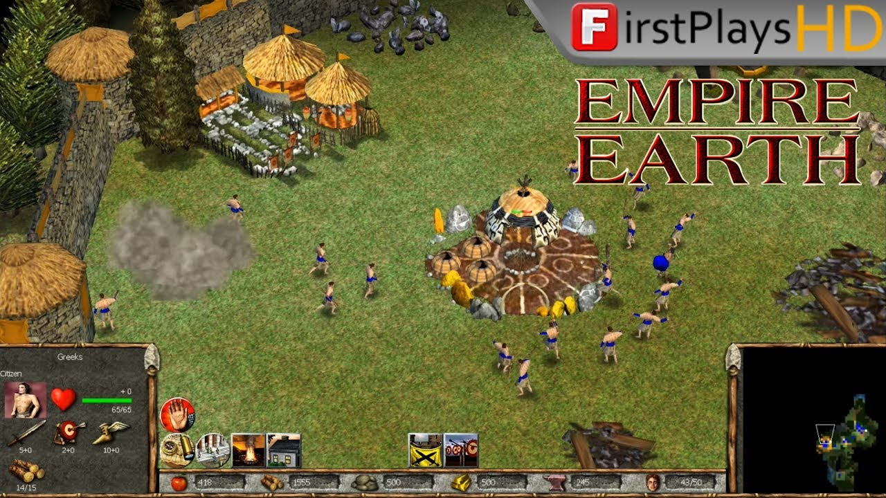 Empire Earth 2001 Pc Gameplay Win 10 Youtube