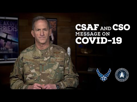 CSAF and CSO COVID-19 Message