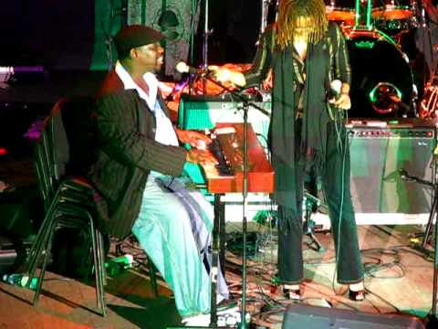 Lucky Peterson - Sweet home Chicago and Rock me all night long (Live @ Sighisoara Blues Festival)