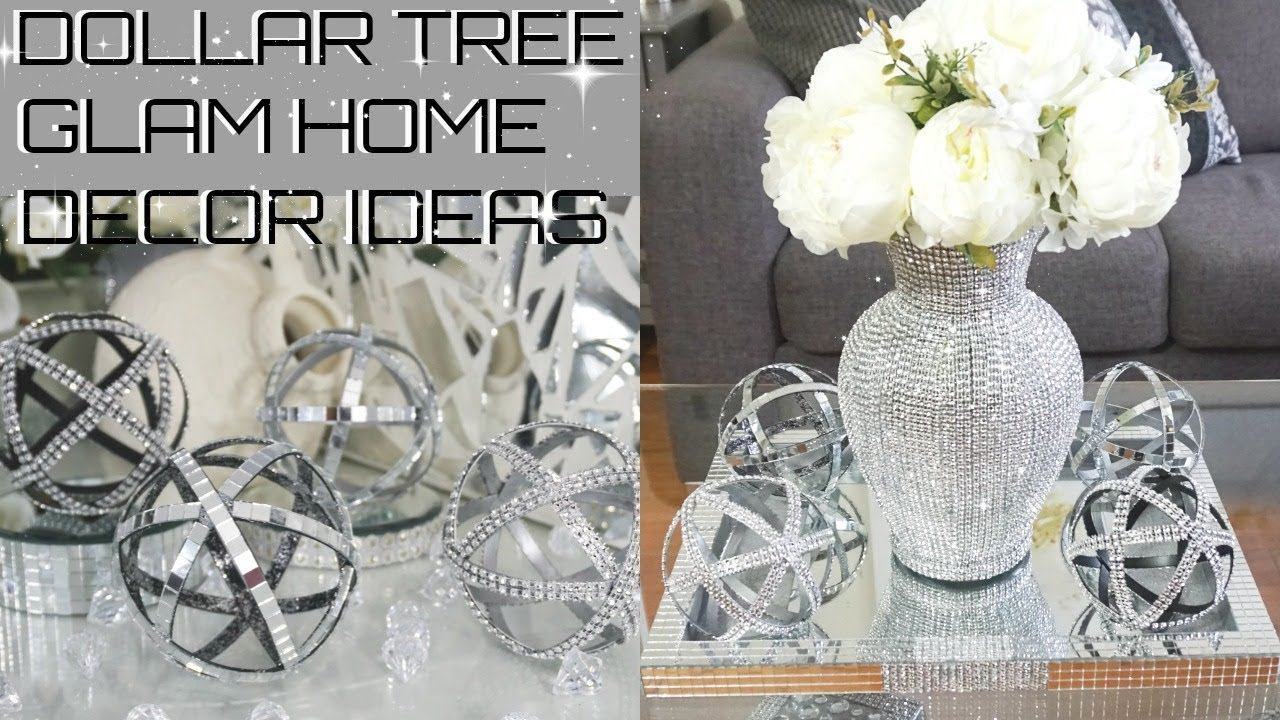 Diy Dollar Tree Glam Home Decor Diy Inexpensive Bling