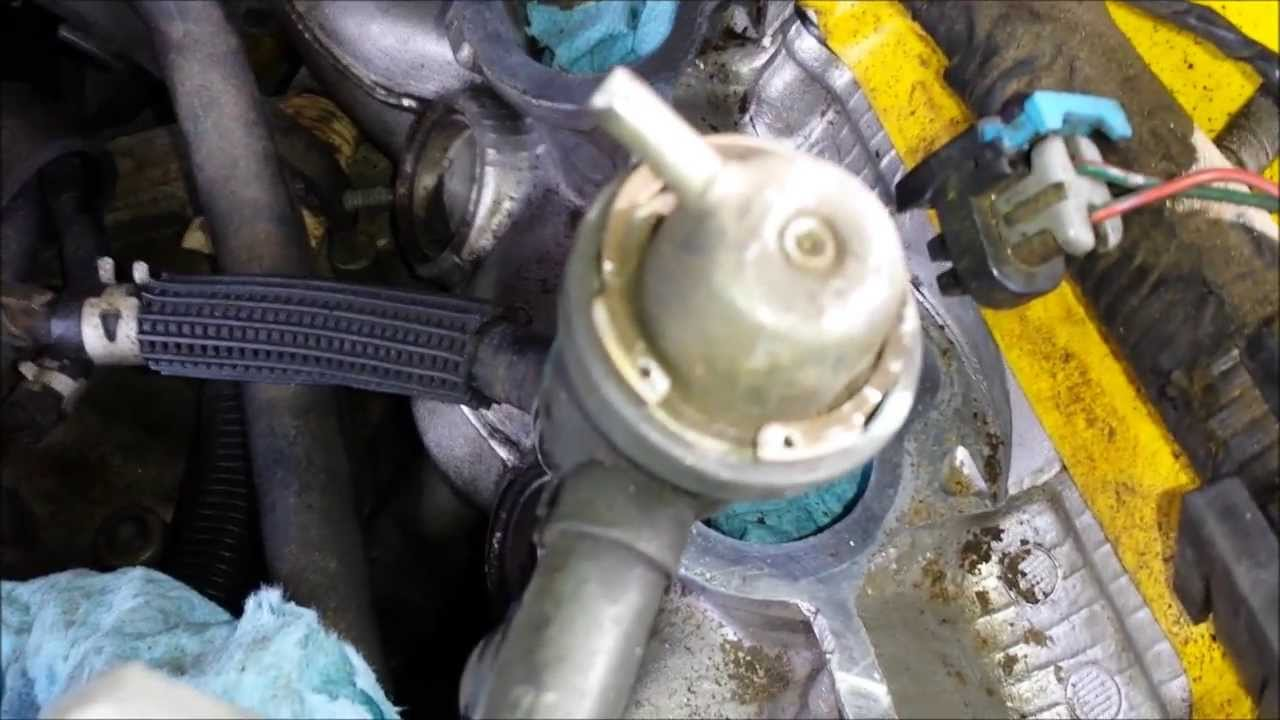 2003 Isuzu Npr Wiring Diagram Isuzu Rodeo Fuel Pressure Regulator Replacement Youtube