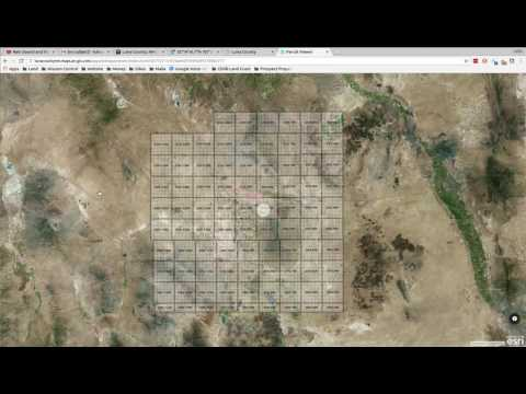 How to find land in Luna County New Mexico