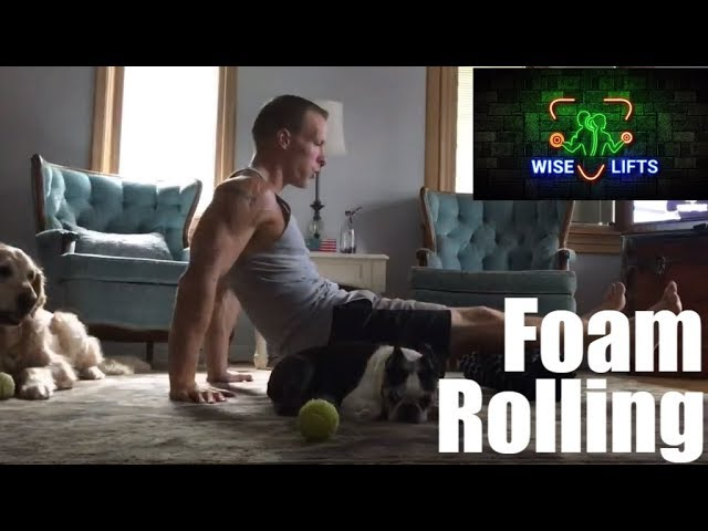 Wise Eats Workout – Active Recovery: Foam Rolling (Wise Lifts - Self-Massage, Myofascial Release)