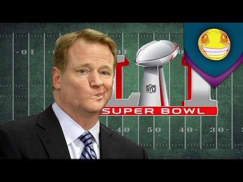 NFL Commissioner Roger Goodell booed @ Super Bowl 51
