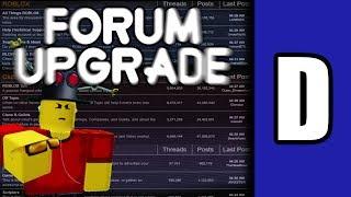 """Das ROBLOX Forum """"Upgrade"""" [Eine ROBLOX Diskussion]"""