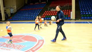 Мини-футбол дети видео урок детской школы Ростов-Дон 3-6 лет
