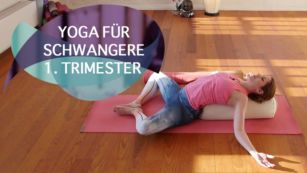 Yoga für Schwangere: erstes Trimester // FlexibleFit Yoga