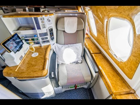 LUXURY TRAVEL - EMIRATES A380 BUSINESS CLASS - Zurich to Dub