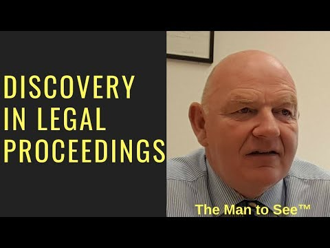 Discovery in Legal Proceedings in Ireland-the Essentials