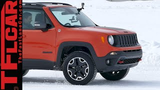 2015 Jeep Renegade 4WD Ice Track Review: Brrrr-usted Part 2