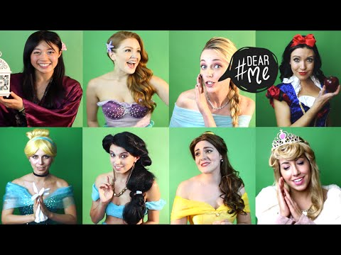 DearMe  Disney Princesses Give Advice To Their Younger Selves