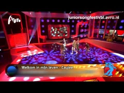 Caylee - Welkom in mijn leven  (Junior Songfestival 2010)