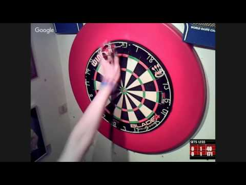 themadhatter vs The Asset Webcam Darts 14/05/16