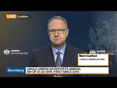 Anglo American CEO Says Debt Reduction Remains Top Priority