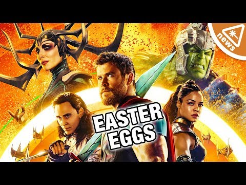 The Best Easter Eggs You Missed in Thor Ragnarok! (Nerdist News w/ Jessica Chobot)