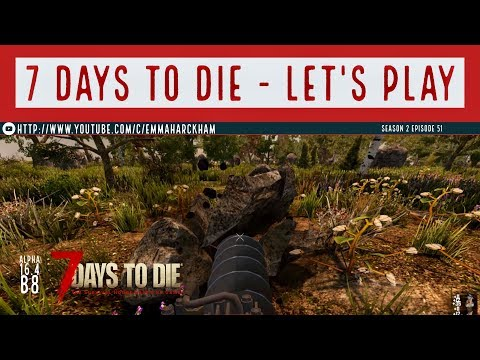 7 Days to Die A16 S2 Ep 51 Boulder time (incl Nov shoutout)