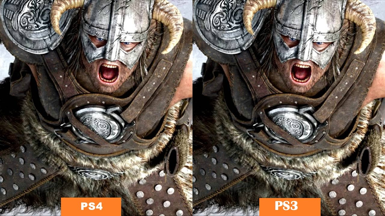 Skyrim Remastered PS4 vs PS3 Face Off – Graphics Comparison And