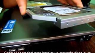 Adaptador(Caddy) para Segundo Disco Duro Laptop Sata
