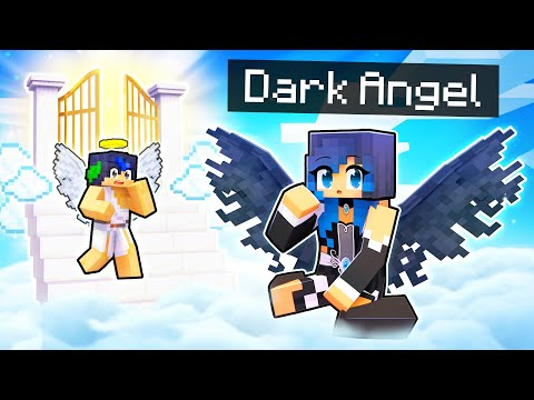 Playing as the DARK ANGEL In Minecraft!