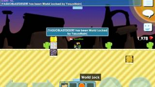 Growtopia Using a Desert Blast!!!
