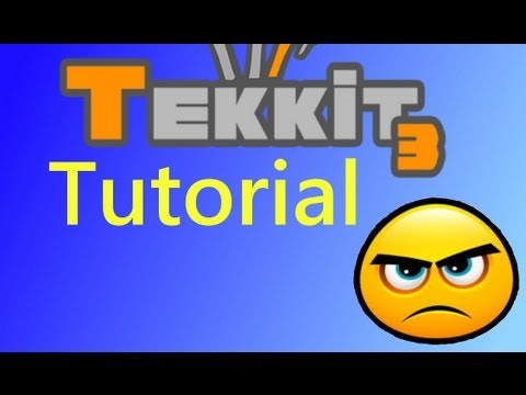 Tekkit Tutorial - Running Combustion Engines Without Water