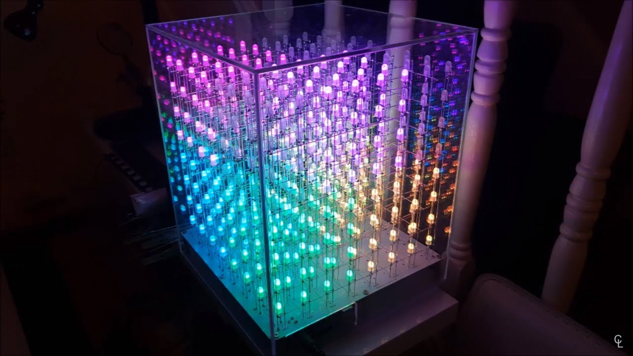 Auracube Build Review Pdf Led Matrix Cube Controller 5x5x5