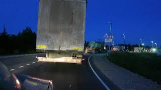 Авария на ж/д переезде возле Перми (29 км) (21.08.2019)