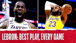 LeBron James' Best Plays From Every Game!