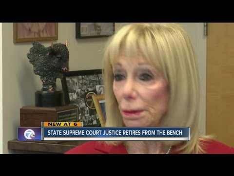Justice Penny Wolfgang retires from State Supreme Court