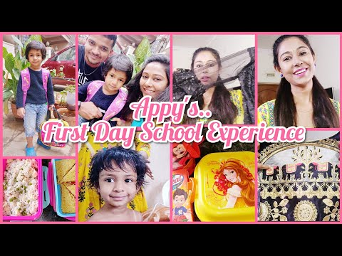 #DIAL | DAY IN APPY'S LIFE 😊 | APPY'S FIRST DAY SCHOOL EXPERIENCE😔 | My New Ready Made Blouses