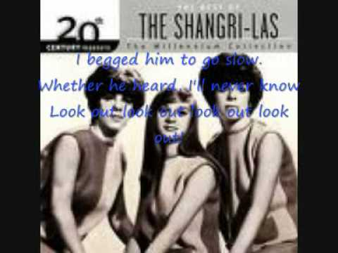 The Shangri-las - Leader Of The Pack  (With Lyrics)