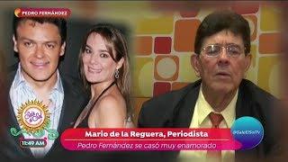 La Verdad Oculta de Pedro Fernández y su boda a los 18 años | Sale el Sol
