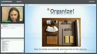 [Вебинар] Как Организовать Себя Для Успешного Обучения?