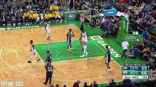 Boston Celtics Defensive Highlights vs Denver Nuggets (12/13/2017)
