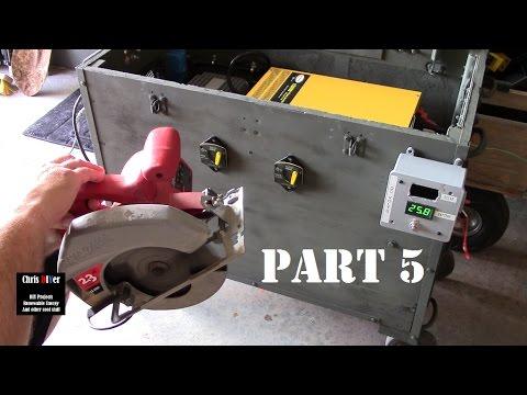 DIY 24-volt solar generator (Part 5)