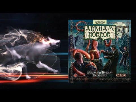 Настольная игра Ужас Аркхэма: Ужас Данвича (Arkham Horror: Dunwich Horror). Прохождение 2