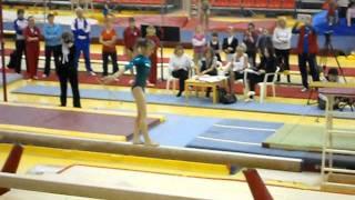 Viktoria Komova 2012 Moscow Championships Balance Beam