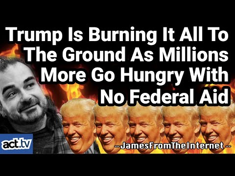 Trump Is Burning It All To The Ground As Millions More Go Hungry With No Federal Aid