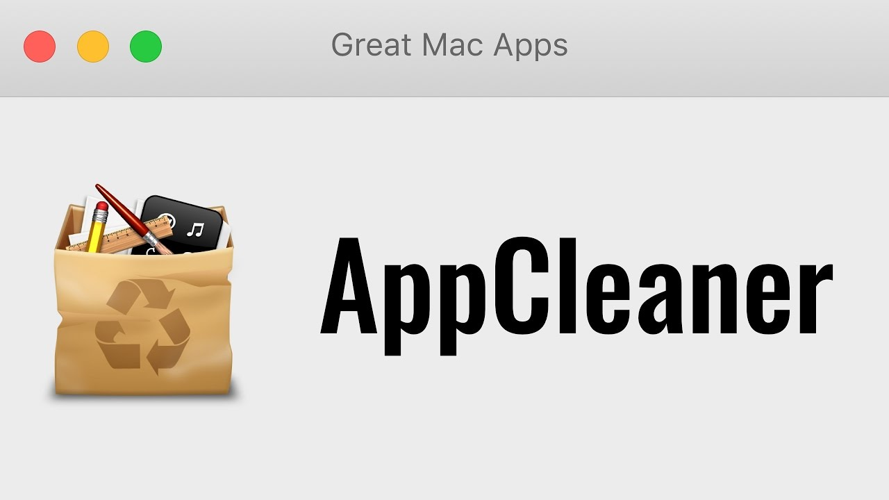 AppCleaner (Uninstall Mac apps completely)