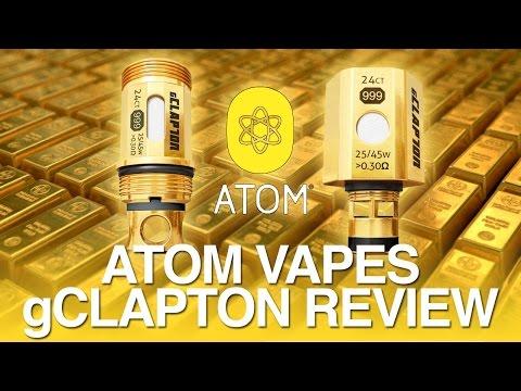 Daily Vape TV- Atom Vapes gClapton Coil Review