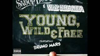 Wiz Khalifa Ft. Snoop Dogg - Young Wild And Free [Lyrics]